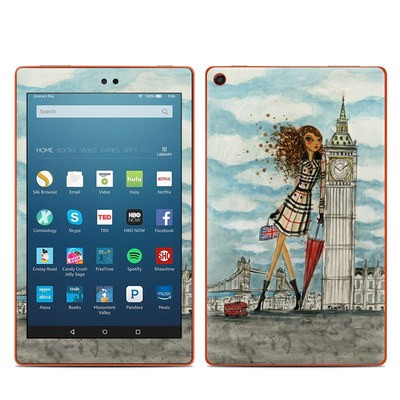 Amazon Kindle Fire HD8 2016 Skin - The Sights London