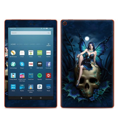 Amazon Kindle Fire HD8 2016 Skin - Skull Fairy