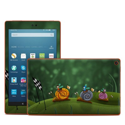 Amazon Kindle Fire HD8 2016 Skin - Snail Race