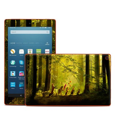 Amazon Kindle Fire HD8 2016 Skin - Secret Parade