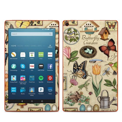 Amazon Kindle Fire HD8 2016 Skin - Spring All