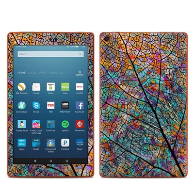 Amazon Kindle Fire HD8 2016 Skin - Stained Aspen