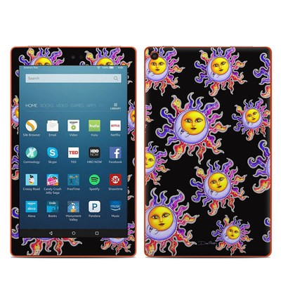 Amazon Kindle Fire HD8 2016 Skin - Sun & Moon