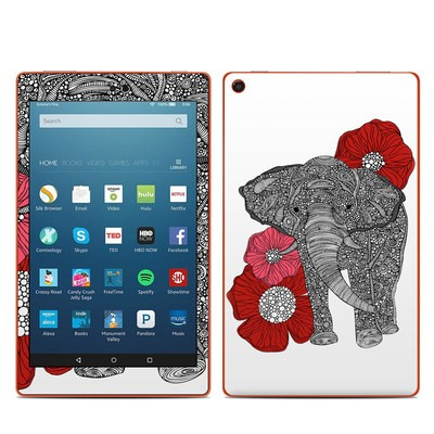 Amazon Kindle Fire HD8 2016 Skin - The Elephant