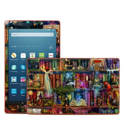 Amazon Kindle Fire HD8 2016 Skin - Treasure Hunt