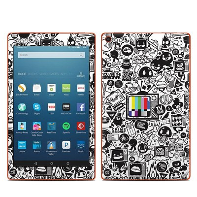 Amazon Kindle Fire HD8 2016 Skin - TV Kills Everything