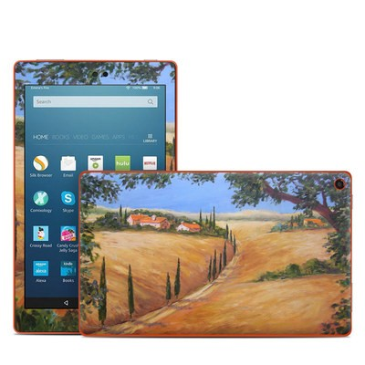 Amazon Kindle Fire HD8 2016 Skin - Wheat Fields