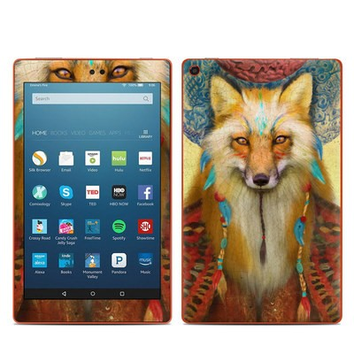 Amazon Kindle Fire HD8 2016 Skin - Wise Fox