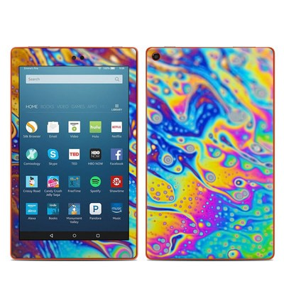 Amazon Kindle Fire HD8 2016 Skin - World of Soap
