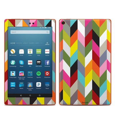 Amazon Kindle Fire HD8 2016 Skin - Ziggy Condensed