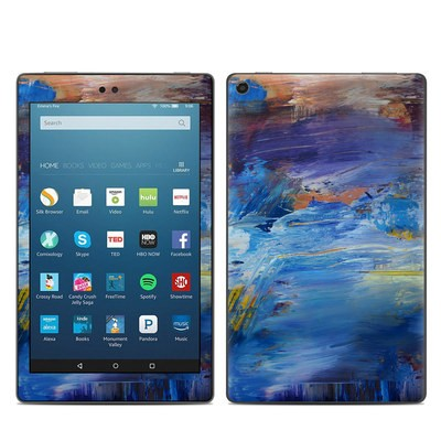 Amazon Kindle Fire HD8 2017 Skin - Abyss