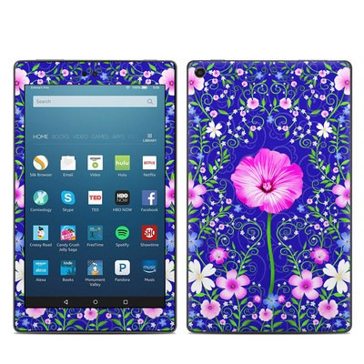 Amazon Kindle Fire HD8 2017 Skin - Floral Harmony