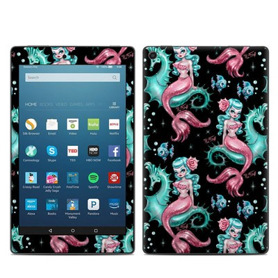 Amazon Kindle Fire HD8 2017 Skin - Mysterious Mermaids