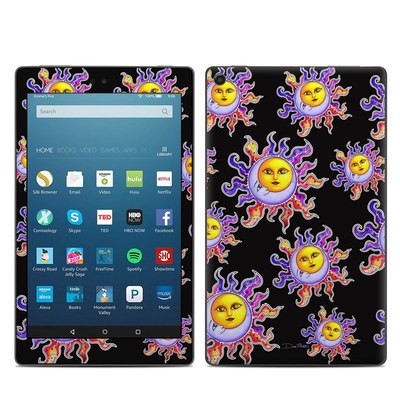 Amazon Kindle Fire HD8 2017 Skin - Sun & Moon