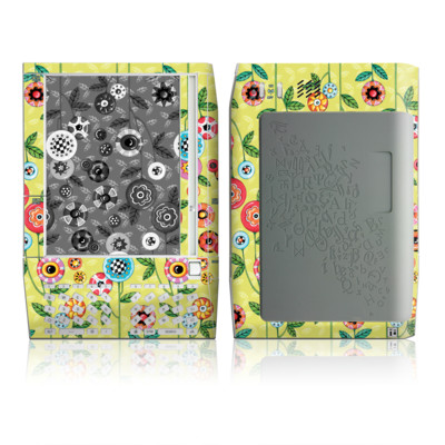 Kindle Skin - Button Flowers