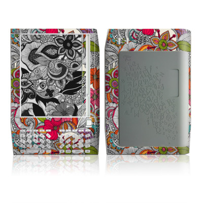 Kindle Skin - Doodles Color