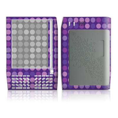 Kindle Skin - Big Dots Purple
