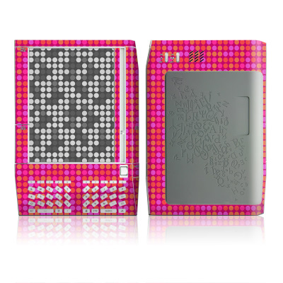 Kindle Skin - Dots Pink