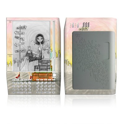 Kindle Skin - The Jet Setter