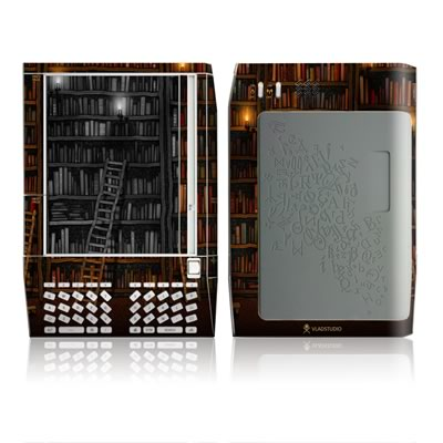 Kindle Skin - Library