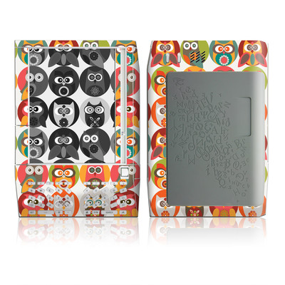 Kindle Skin - Owls Family