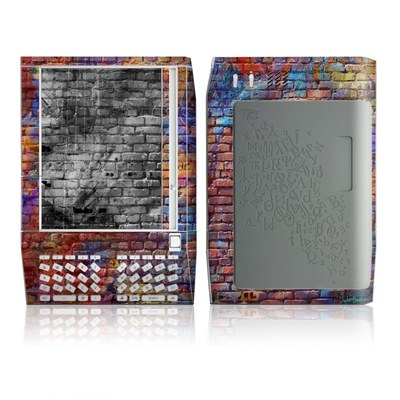 Kindle Skin - Painted Brick