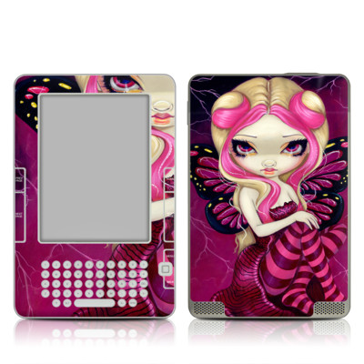 Kindle Skin - Pink Lightning