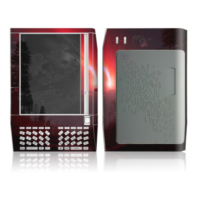 Kindle Skin - Red Harbinger