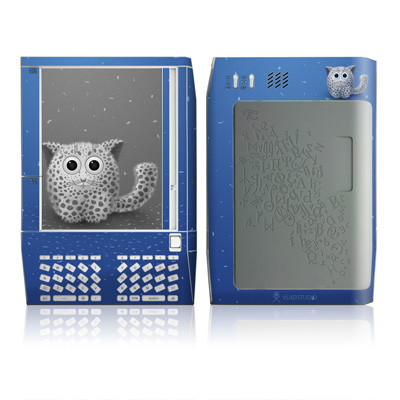 Kindle Skin - Snow Leopard