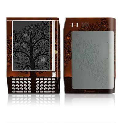 Kindle Skin - Tree Of Books