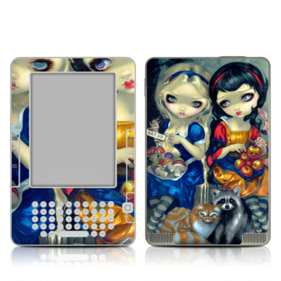 Kindle 2 Skin - Alice & Snow White