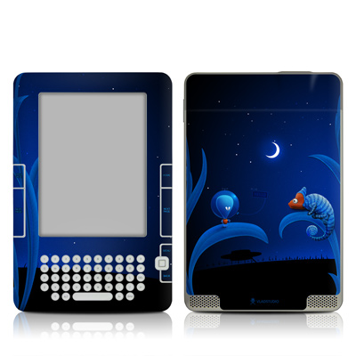 Kindle 2 Skin - Alien and Chameleon