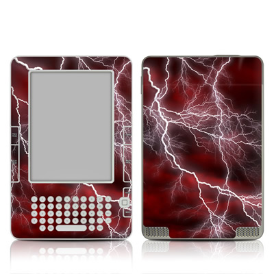 Kindle 2 Skin - Apocalypse Red
