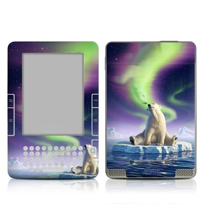Kindle 2 Skin - Arctic Kiss