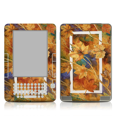 Kindle 2 Skin - Autumn Days