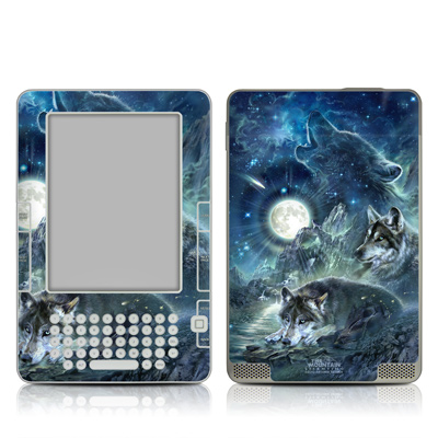 Kindle 2 Skin - Bark At The Moon