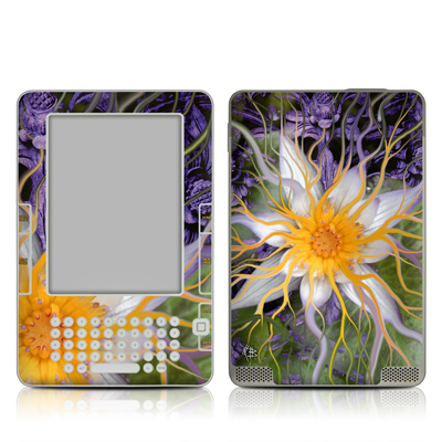 Kindle 2 Skin - Bali Dream Flower