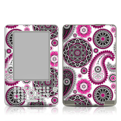 Kindle 2 Skin - Boho Girl Paisley