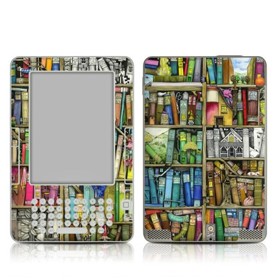 Kindle 2 Skin - Bookshelf