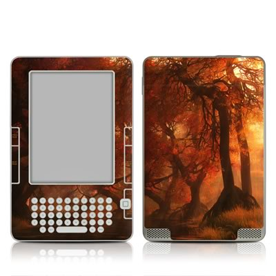 Kindle 2 Skin - Canopy Creek Autumn