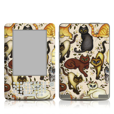 Kindle 2 Skin - Cats