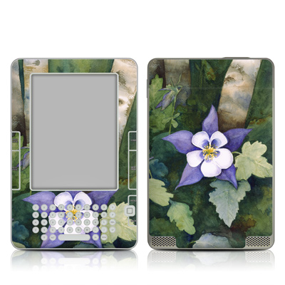 Kindle 2 Skin - Colorado Columbines