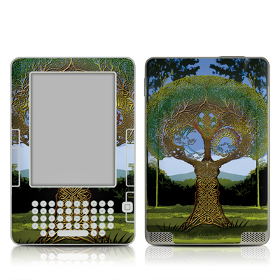 Kindle 2 Skin - Celtic Tree