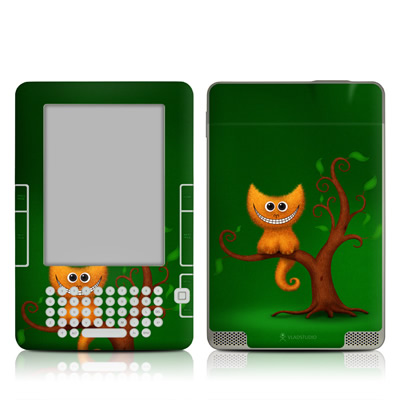 Kindle 2 Skin - Cheshire Kitten