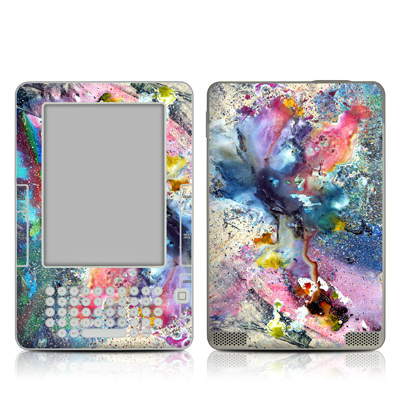 Kindle 2 Skin - Cosmic Flower