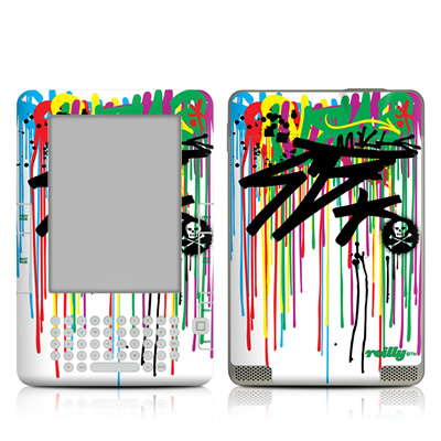 Kindle 2 Skin - Colour Rain