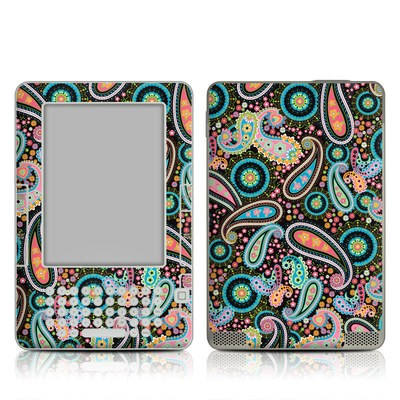 Kindle 2 Skin - Crazy Daisy Paisley