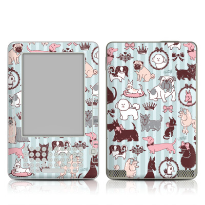 Kindle 2 Skin - Doggy Boudoir