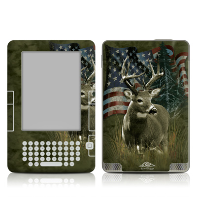 Kindle 2 Skin - Deer Flag