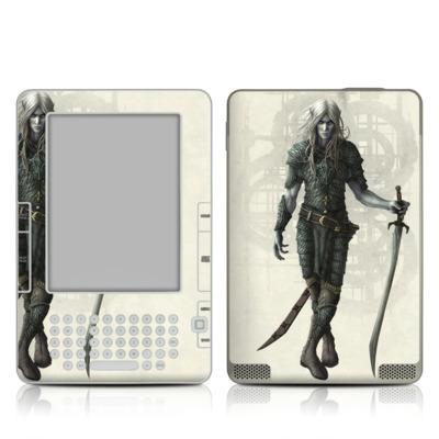 Kindle 2 Skin - Dark Elf